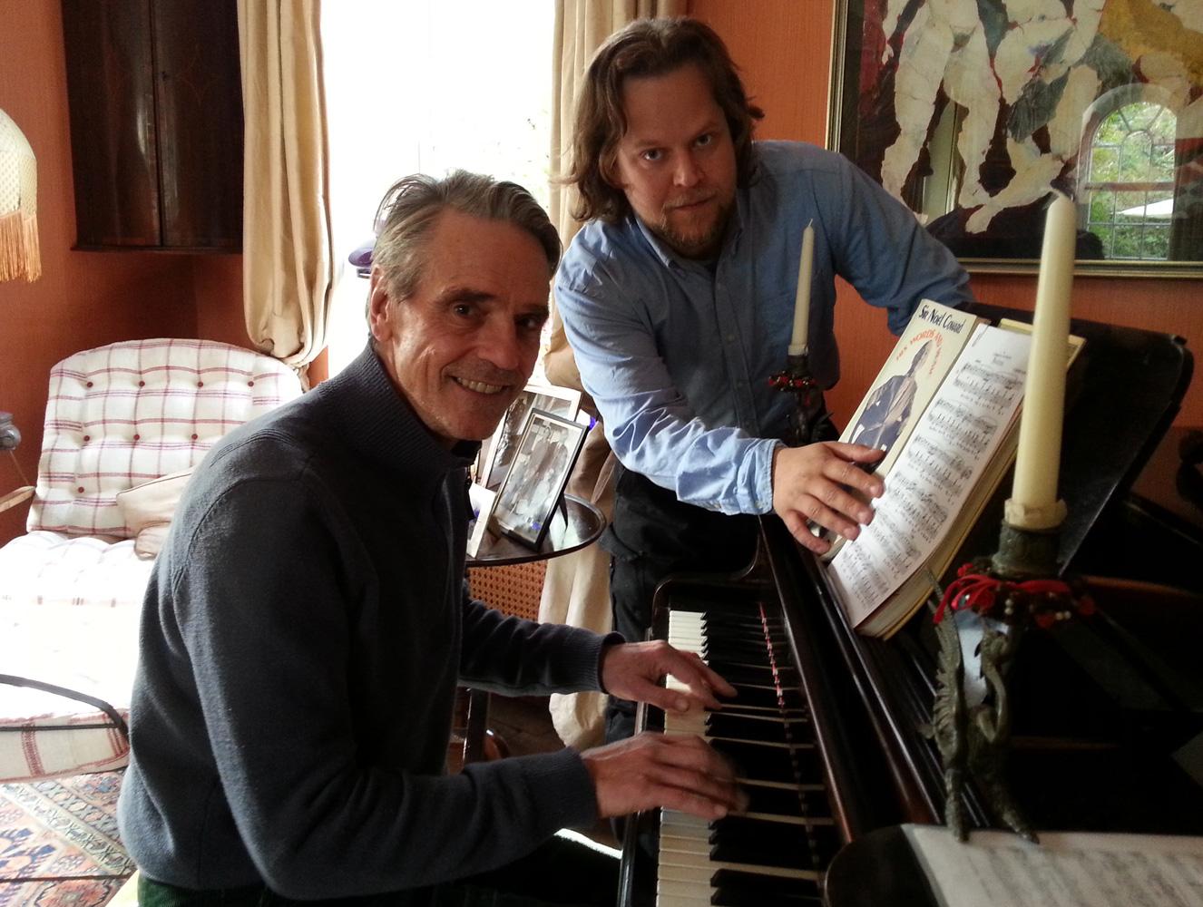 Legendary Actor Jeremy Irons Enjoys Learning Experience With Matej Lehocky