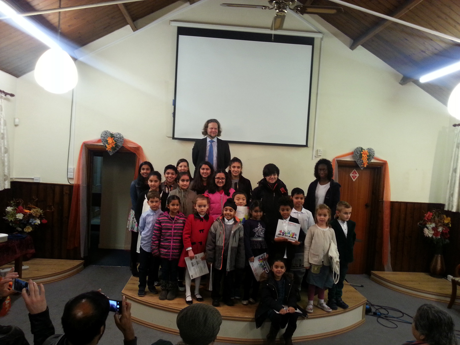 Thames Valley Piano School Performed At The End-of-Term Concert In Slough