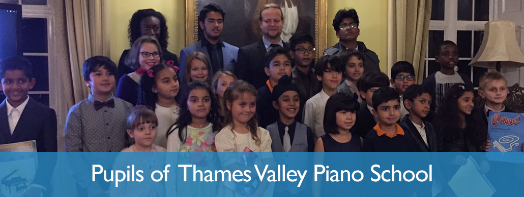 Pupils of Thames Valley Piano School